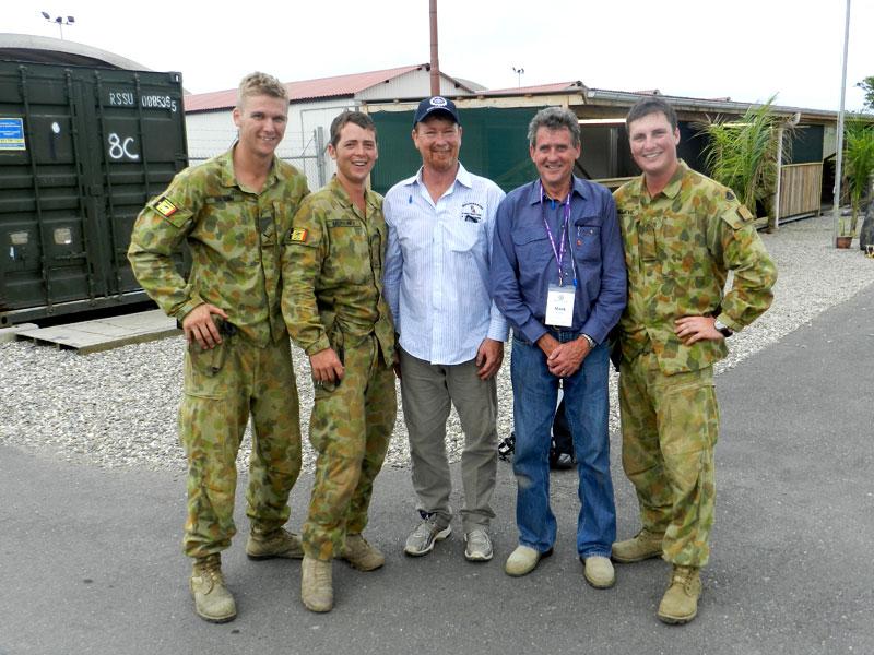 Operation Boss Lift, Peter Moroney, Kurt Moroney, Anthony Gillan from Buildingwise Newcastle