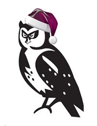 Buildingwise Certifiers Newcastle XMAS Owl Logo - OLD